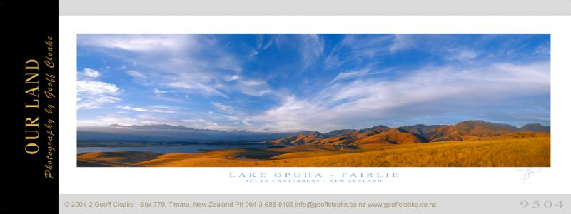 9504 - Lake Opuha - Sample Pano
