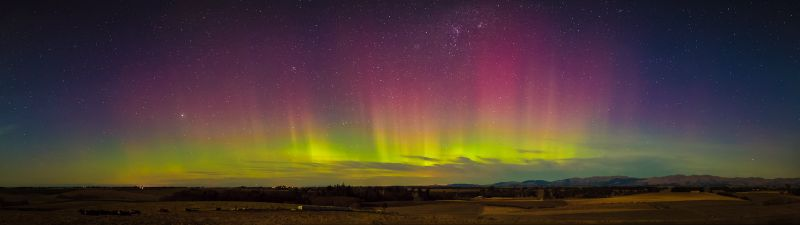 Aurora Australis over South Canterbury T0081P