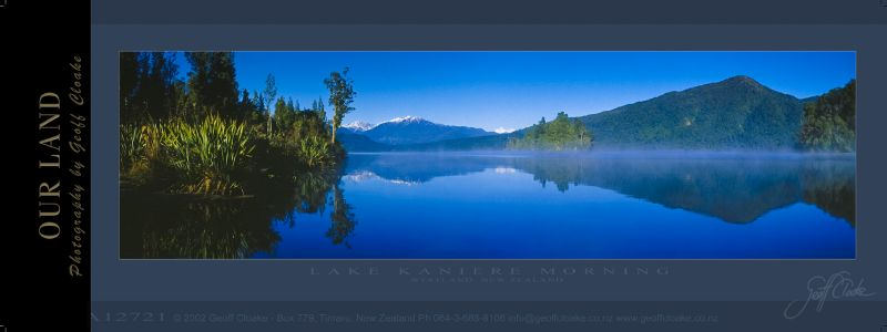 12721 Lake Kaniere Morning - Sample Pano ver A3 aRGB-DLE