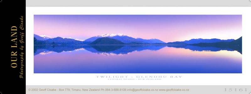 15161 - Twilight Glendhu Bay - Sample Pano