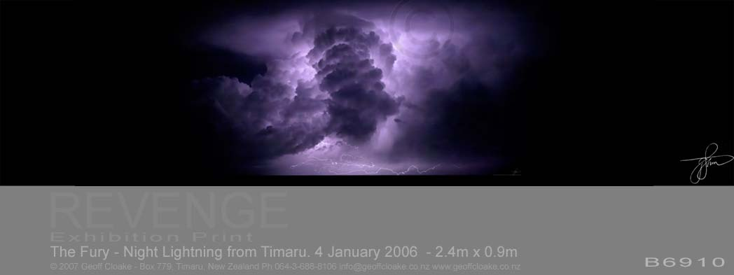 The Fury - Night Lightning from Timaru