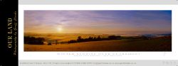 7922 - Winter Sunrise over Claremont - Sample Pano