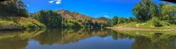 Lower Whanganui River H7646P Panorama