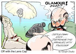 OLC 2000-5-4 Cartoon - Glamour. 20x14x400 Portfolio Page