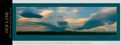 13626c - Dawn Sky Over Mt Nimrod - Small Pano