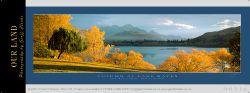 9831c - Autumn at Lake Hayes - Sample Pano