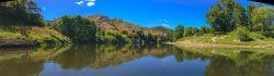 Lower Whanganui River H7646P Panorama